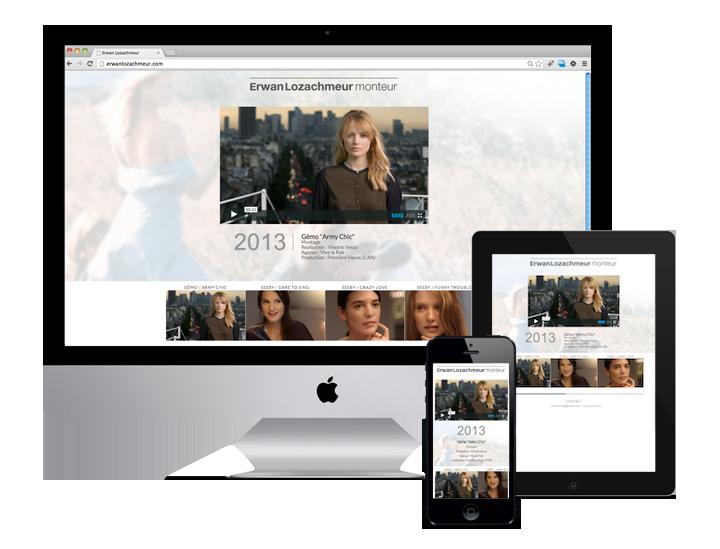 Site WordPress Erwan Losachmeur