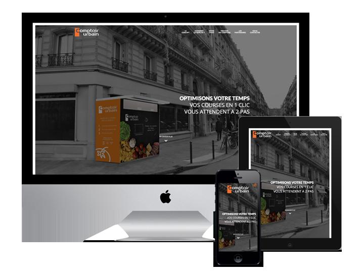 Site WordPress - Freelance Wordpress - Comptoir Urbain