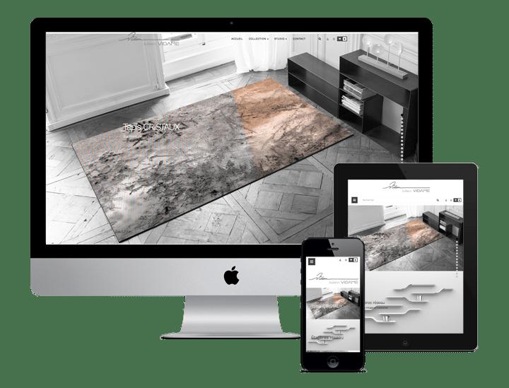 Site WordPress - Freelance Woocommerce - Vidame Création