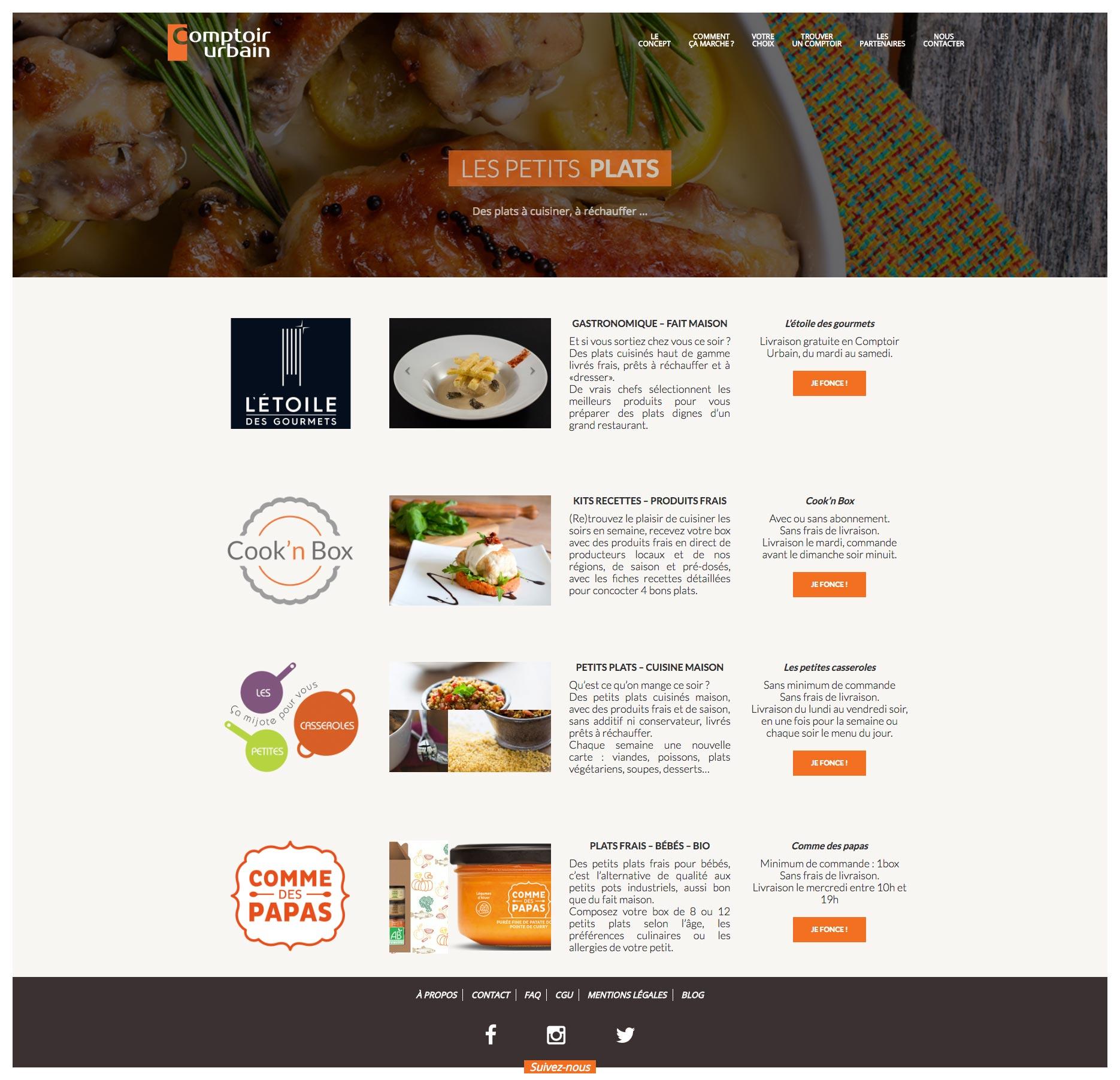 Site WordPress - Expert Wordpress - Comptoir Urbain